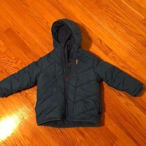 Other - 24 month blue zipper puffer coat.